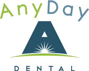 Any Day Dental logo graphic.
